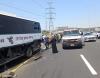 11 مصابا في حادث طرق بين حافلة وشاحنة قرب ياجور