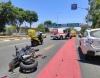 حادث بين دراجة نارية ومركبة خصوصية في حيفا