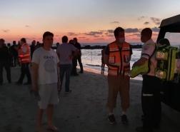 خبر عاجل عثر على رجل (٥٠) من بيت لحم في شاطىءالكرمل بعدتعرضه للغرق.