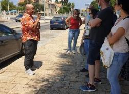 جولة مسار الاطعمة في البلدة التحتى وجادة الكرمل (بن جوريون) في مدينة #حيفا