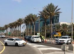 بالصور - اغلاق والتزام في حيفا