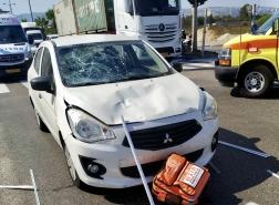 حيفا - اصابة متوسطة لسائق دراجة هوائية سبعيني!