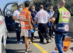 حيفا - إصابة متوسطة لسائق دراجة نارية !