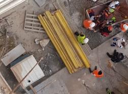 سقوط عامل 40 عامًا في ورشة بناء في حيفا
