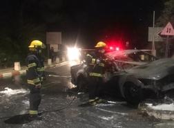 حادث طرق أليم في شارع ابا حوشي بالقرب من جامعة حيفا!