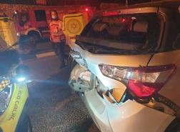 حادث طرق في شارع ياد لبنينم حيفا