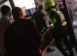 سقوط شخص من علو في شارع الخياط في حيفا