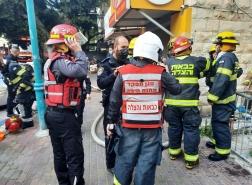 حيفا: تخليص عالقين من شقة سكنية جرّاء اندلاع حريق