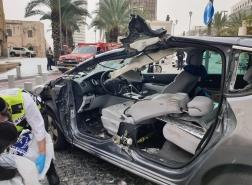 .مصرع سيده جراء حادث طرق بشارع نيتنزون حيفا