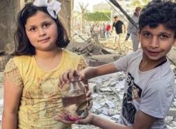 رسالة أطفال غزة للعالم:  أنقذنا السمكة، ورح ننقذ العصافير رغم أن ما يحدث ليس عدلاً!  سامية عرموش