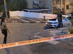 اطلاق النار في مدينة حيفا