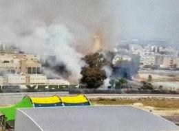 *اندلاع حريق هائل في منطقة مفتوحة في الكريوت*