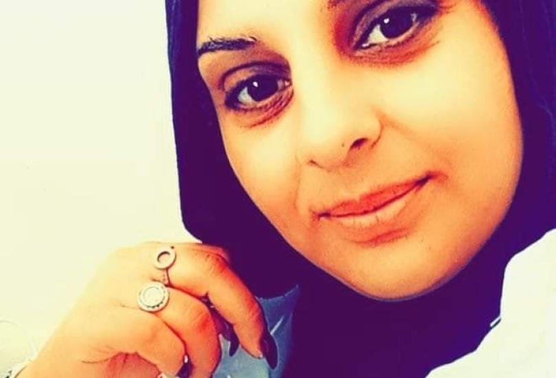 المسعفة الميدانية دعاء زاهر أبو رومي (31 عاماً) من مدينة  طمرة