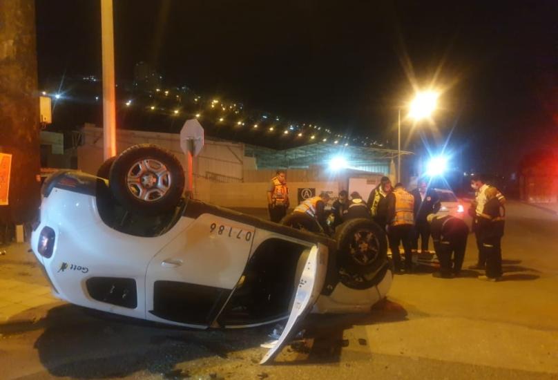 ثلاثة حوادث في الساعة الاخيرة في منطقة حيفا