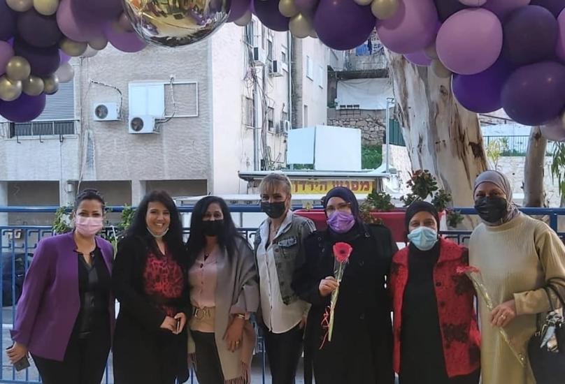 المركز الجماهيري  حليصة يحتفي بيوم المرأة  العالمي
