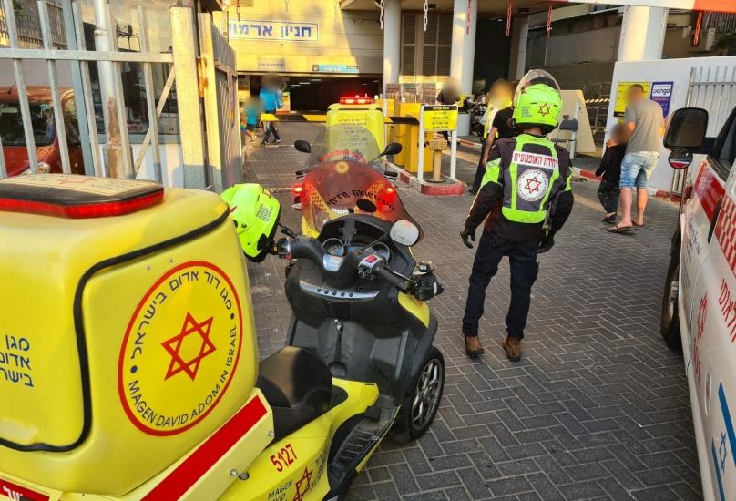 امرأة تعرضت للطعن في حيفا