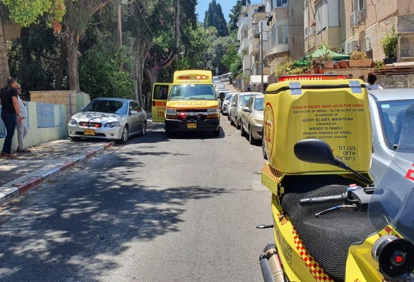 حيفا : مصرع عامل سقط عن إرتفاع