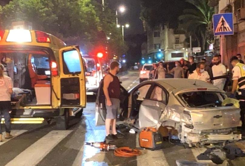 حيفا : اصابة شاب وفتاة بحادث طرق!