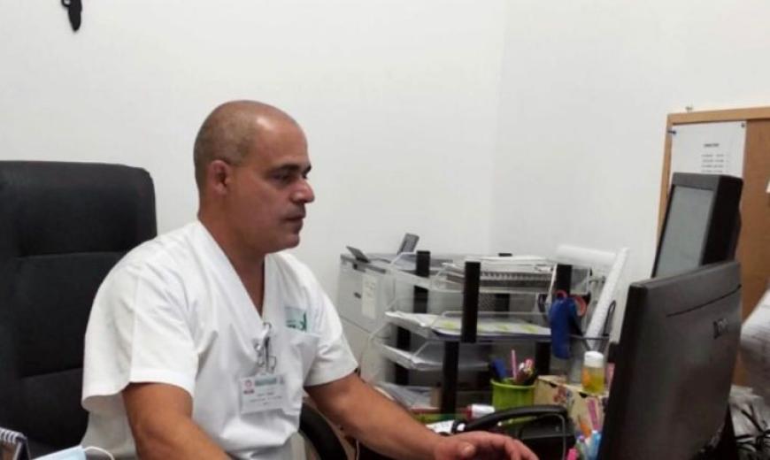 حيفا: عماد جعفر أول عربي شغل منصب نائب رئيس قسم الاشعة في مستشفى روتشيلد
